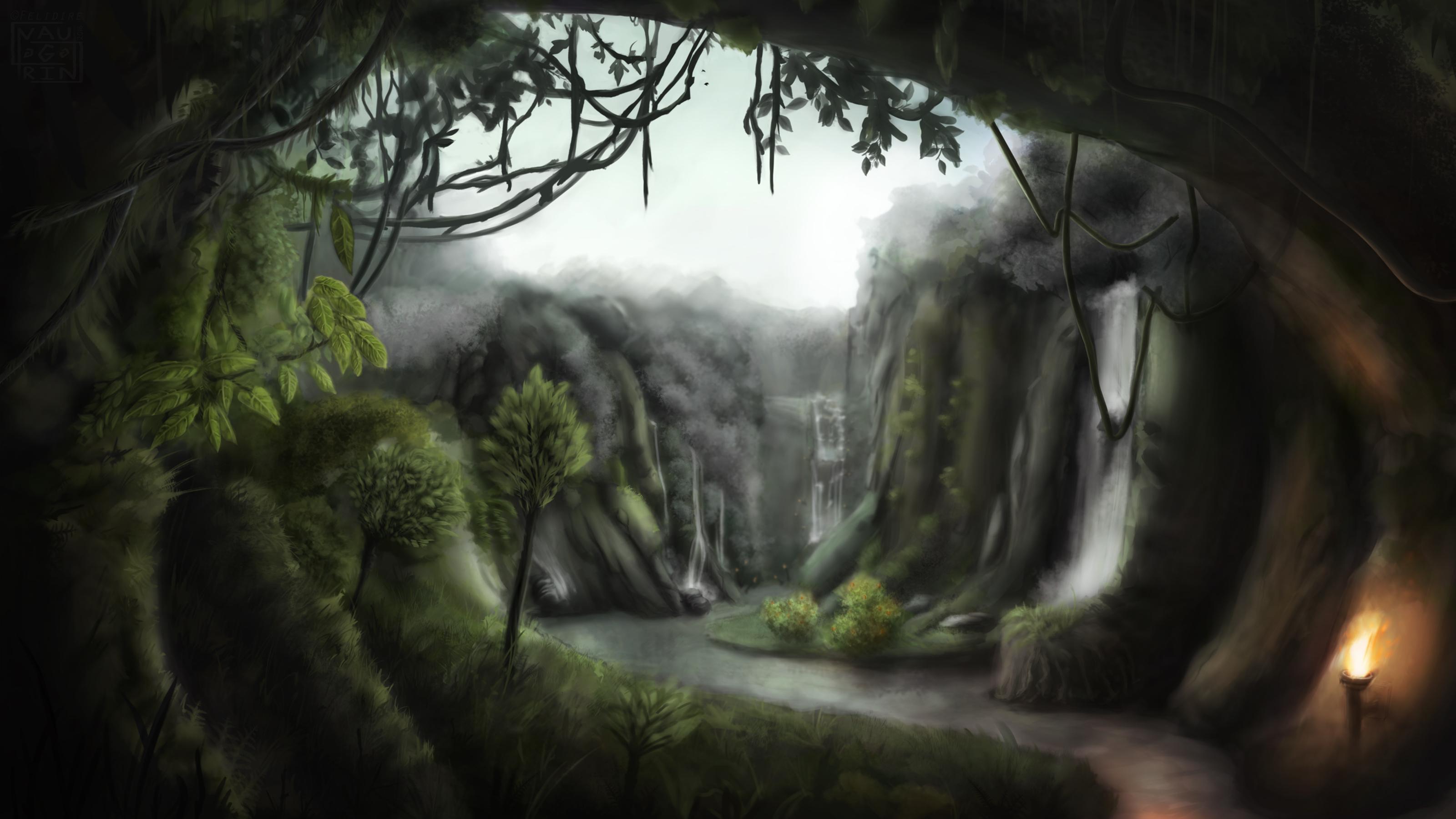 ♕ SPIRIT BRINGERS: EMPYREAN REALM. (SAGA DE UNUKALHAI) - Página 21 Felidire-kurast-jungle