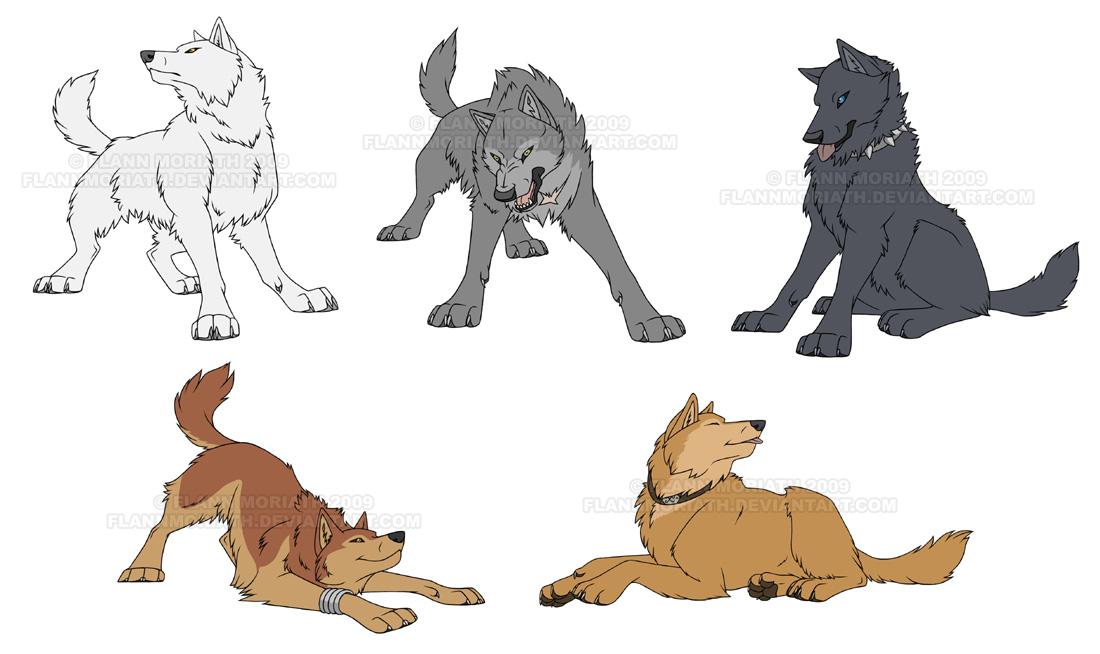 Wolf's Rain — Weasyl
