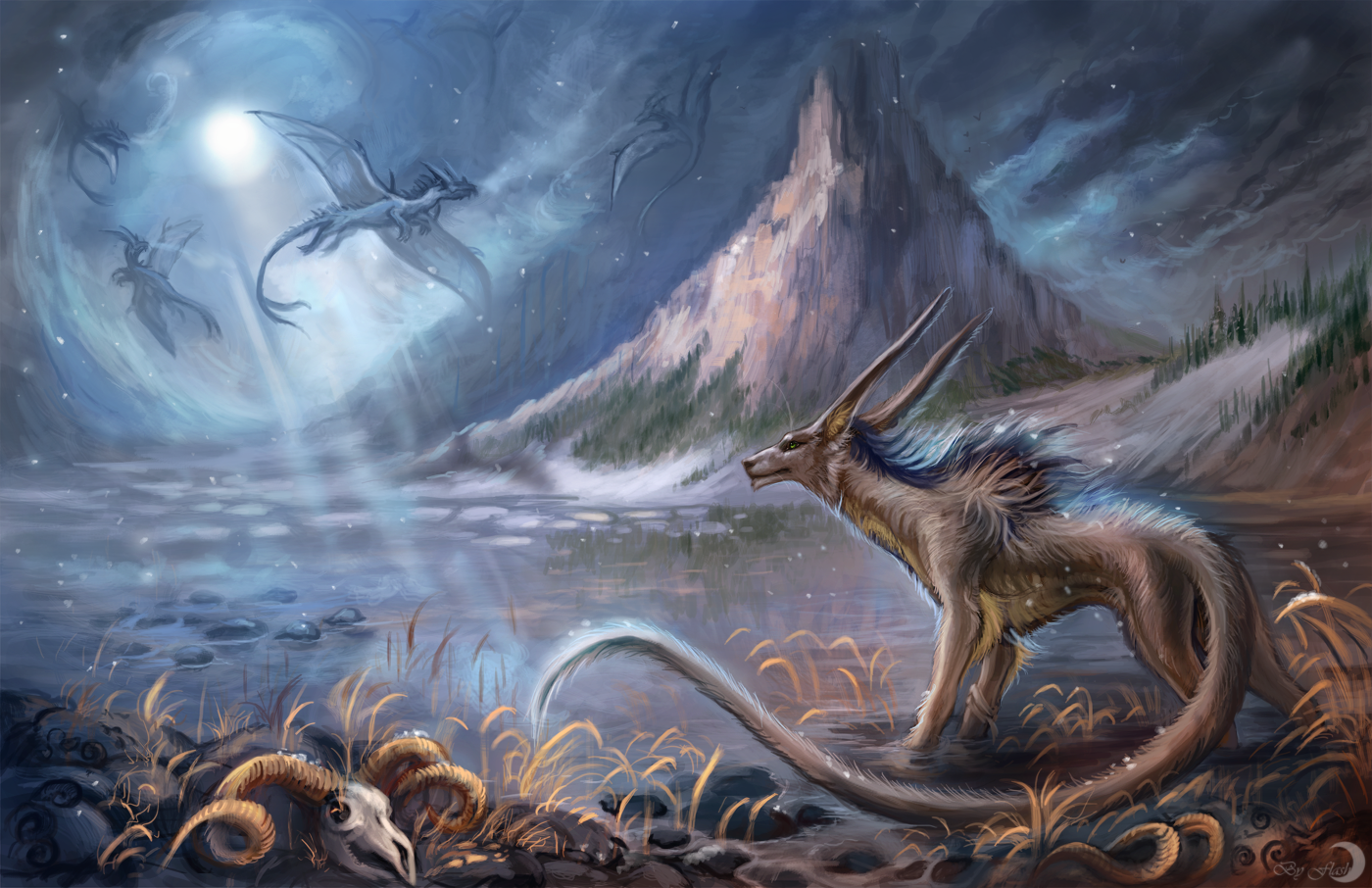 the valley of ice dragons weasyl