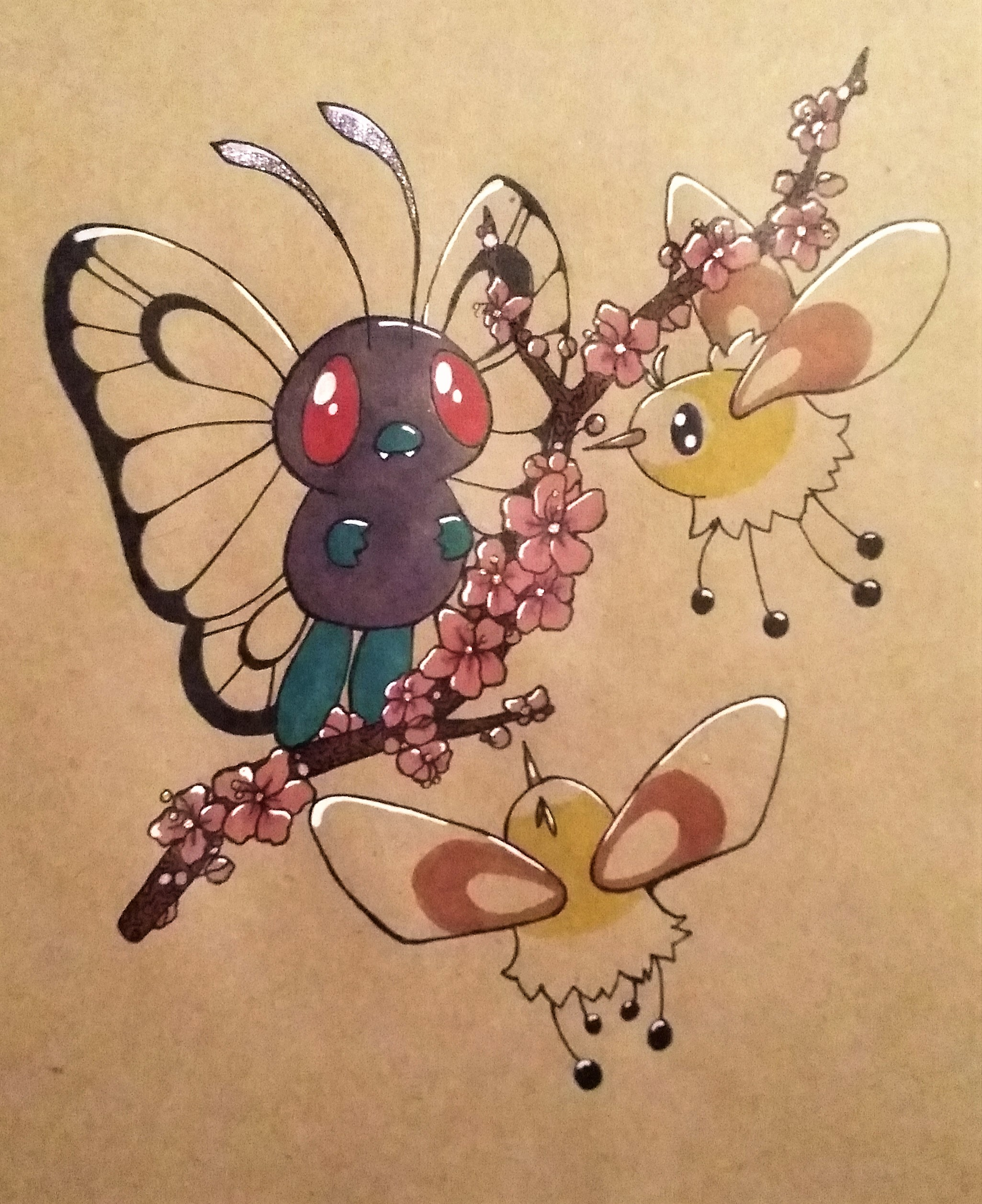 butterfree and friends weasyl