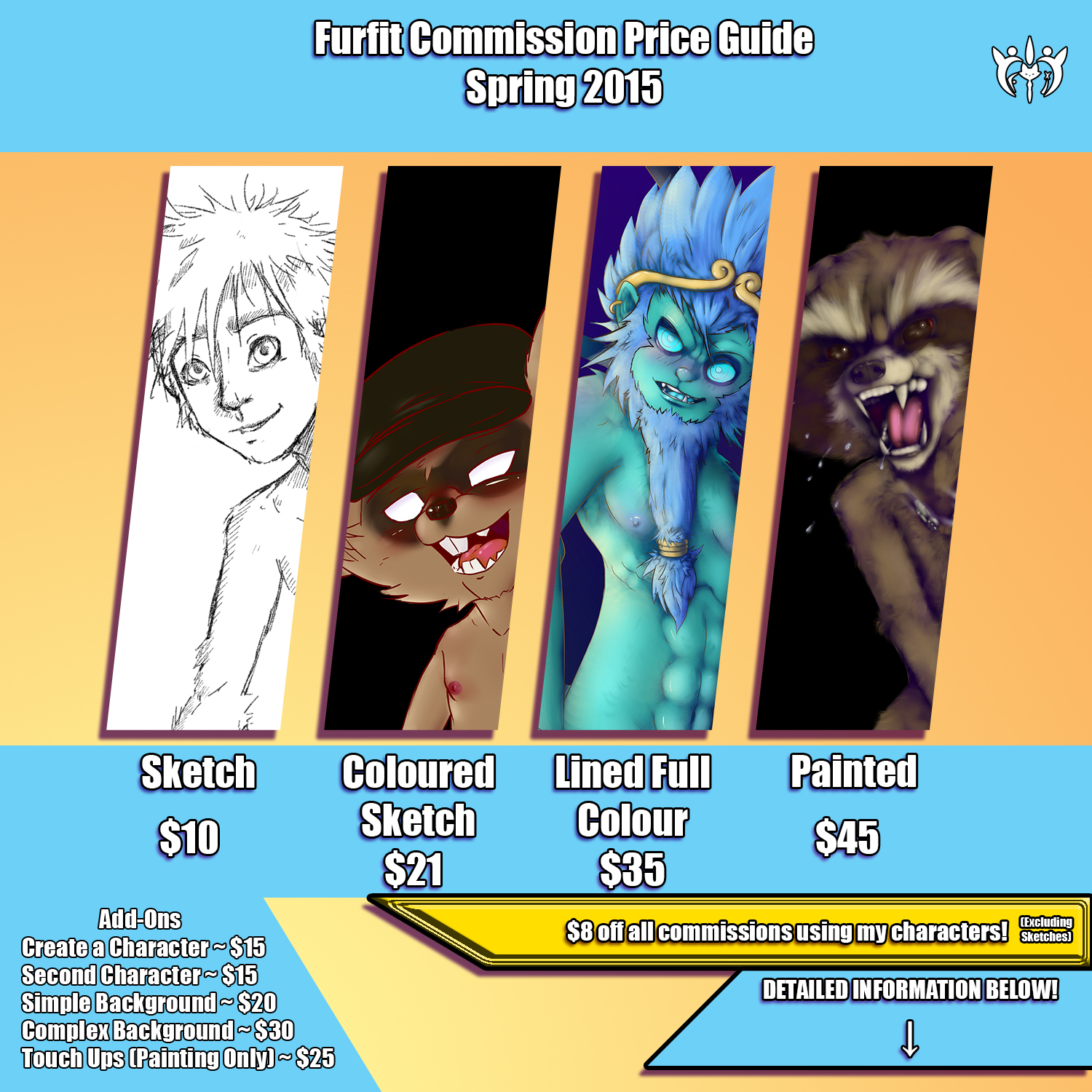 Spring Commission Price Guide 2015 — Weasyl