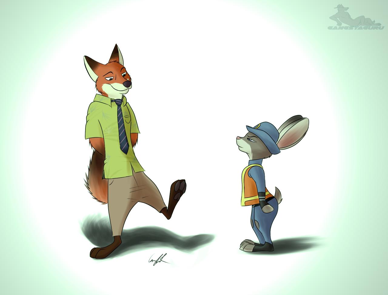 Popolare Nick and Judy (Zootopia Fan Art) — Weasyl YW54