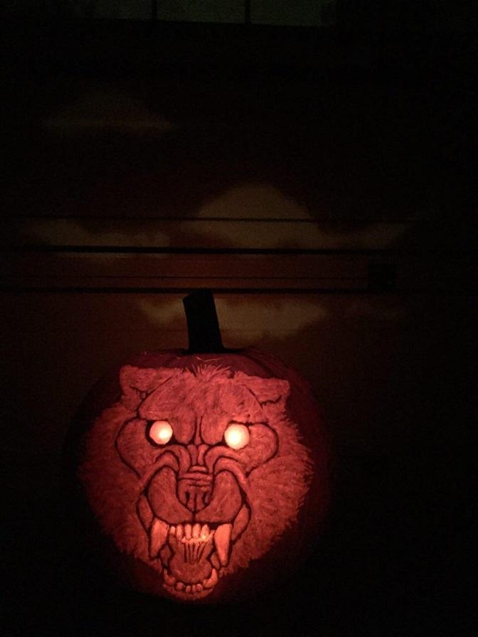 Werewolf Pumpkin wishes you a Happy Halloween! — Weasyl