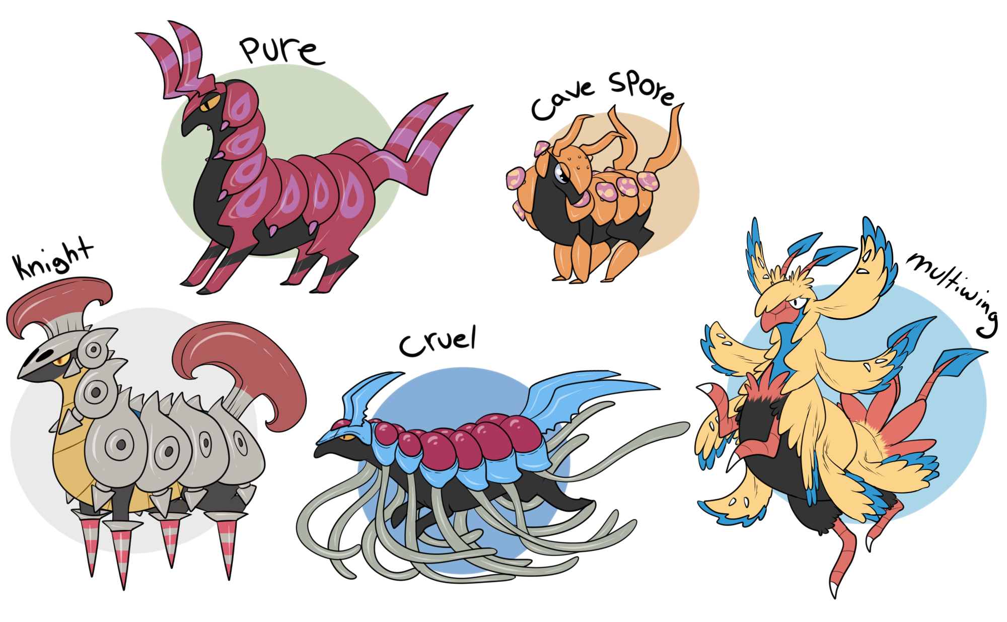 Scolipede Fusions by heyitsdandydoodles Running Horse Png