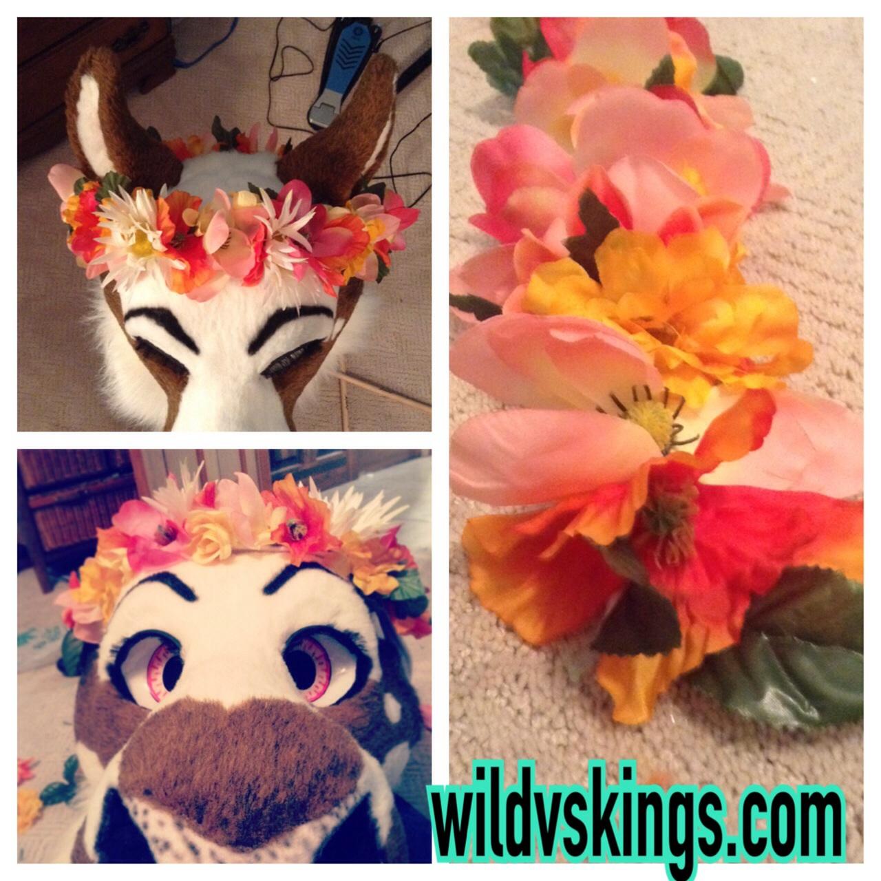 Fursuit Flowercrown Webstore Item Weasyl