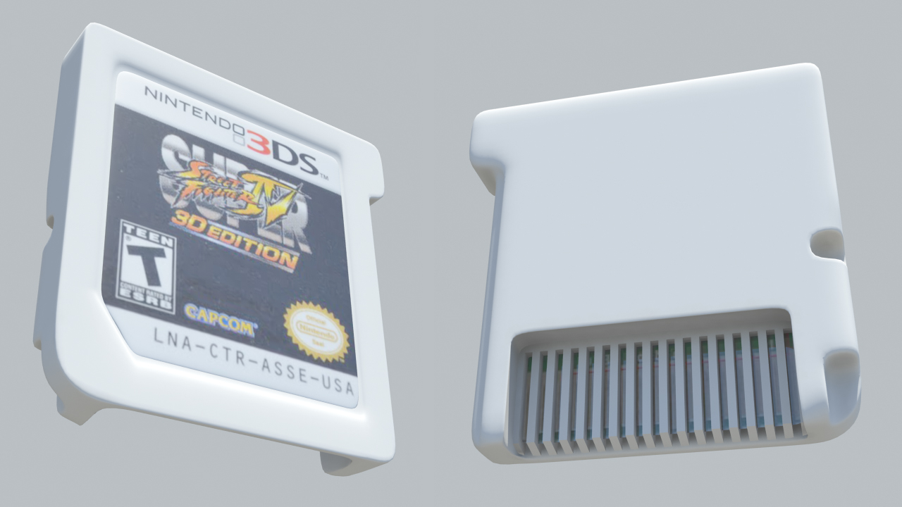 how to keep a 3ds cartridge games on a 3ds