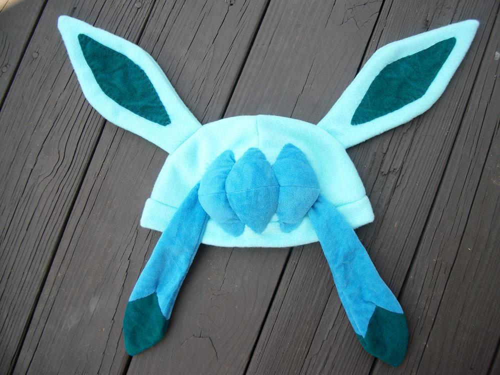 glaceon fleece hat by - photo #7