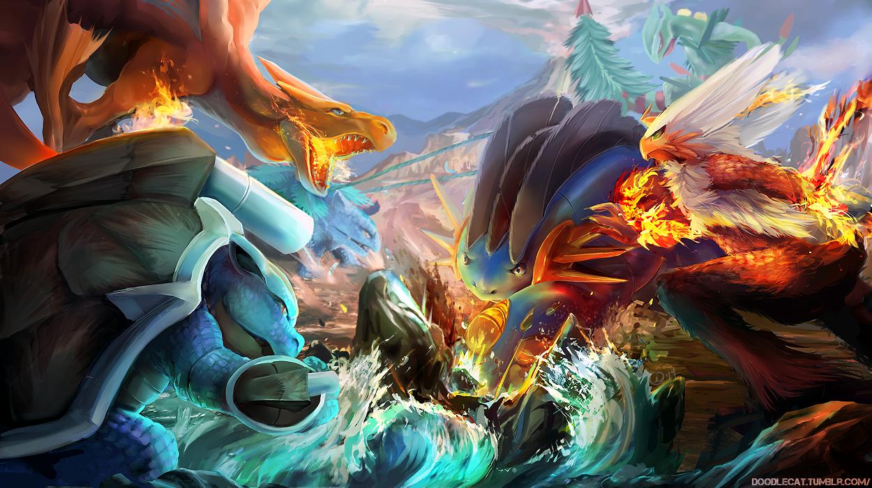 Mega Battle — Weasyl