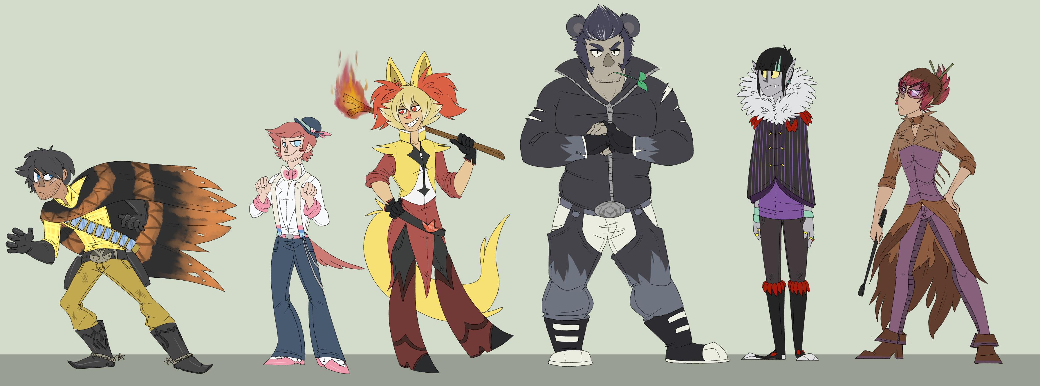 pokemon y gijinka team � weasyl