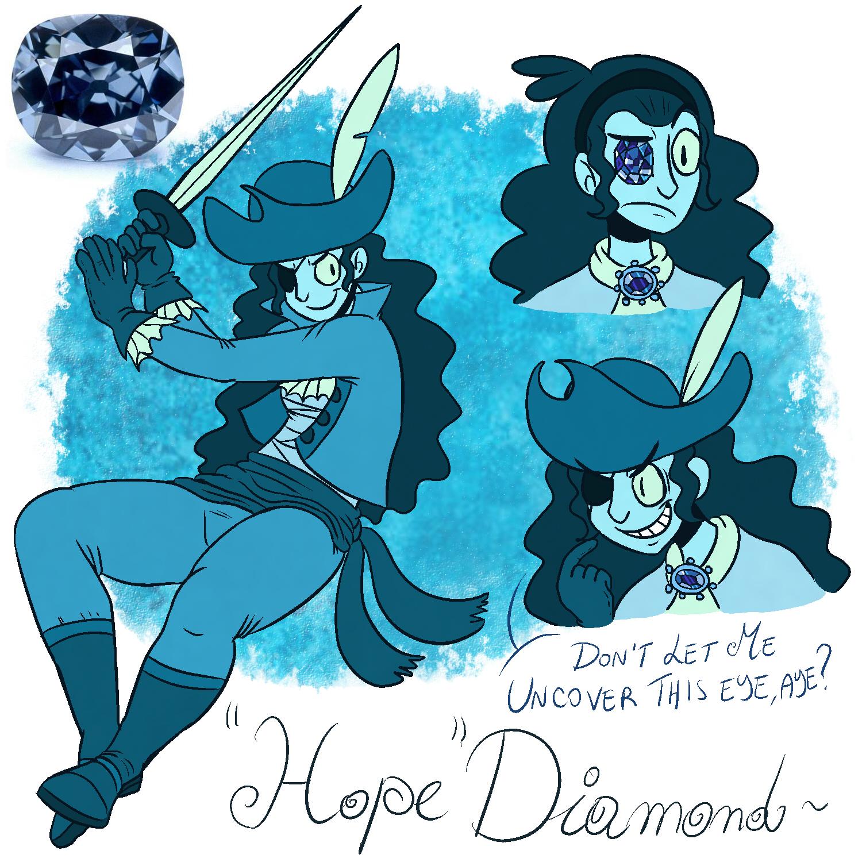 gemsona blue diamond hope weasyl