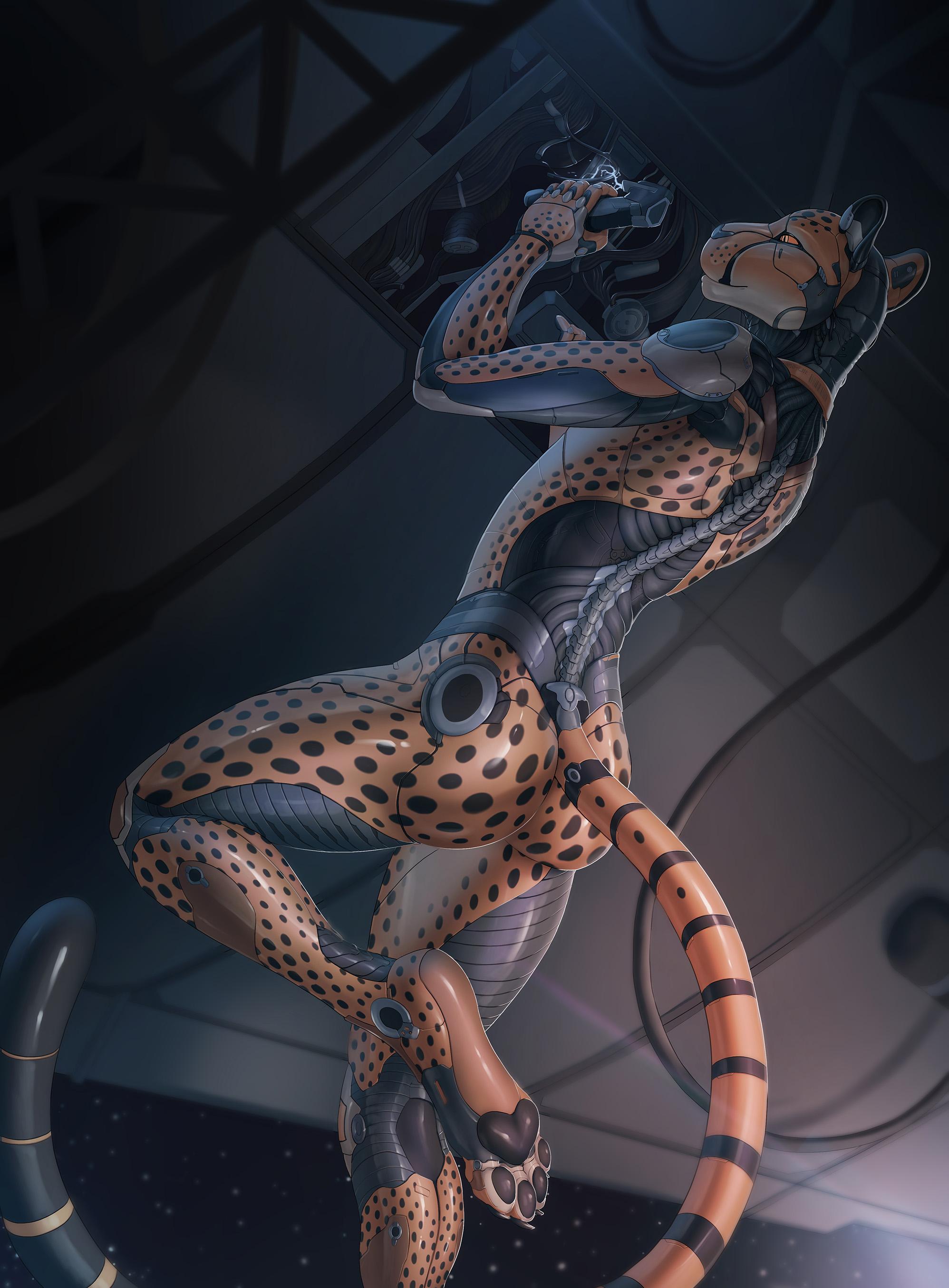 Cheetah Mechanical Frame by Tanraak — Weasyl