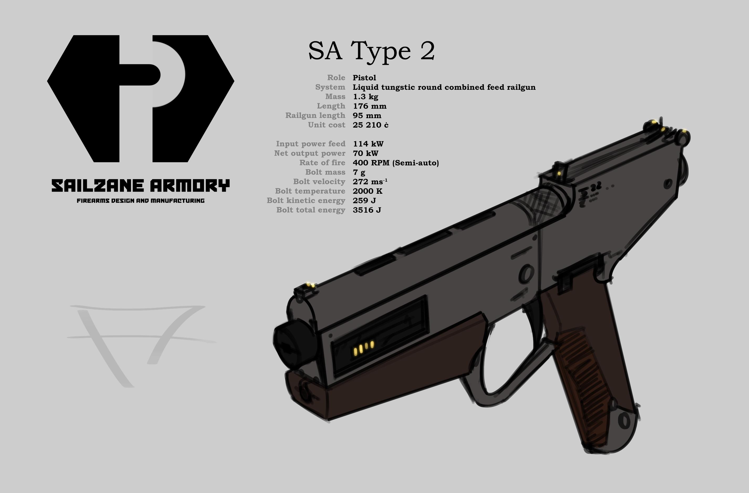 SA Type 2 pistol Weasyl