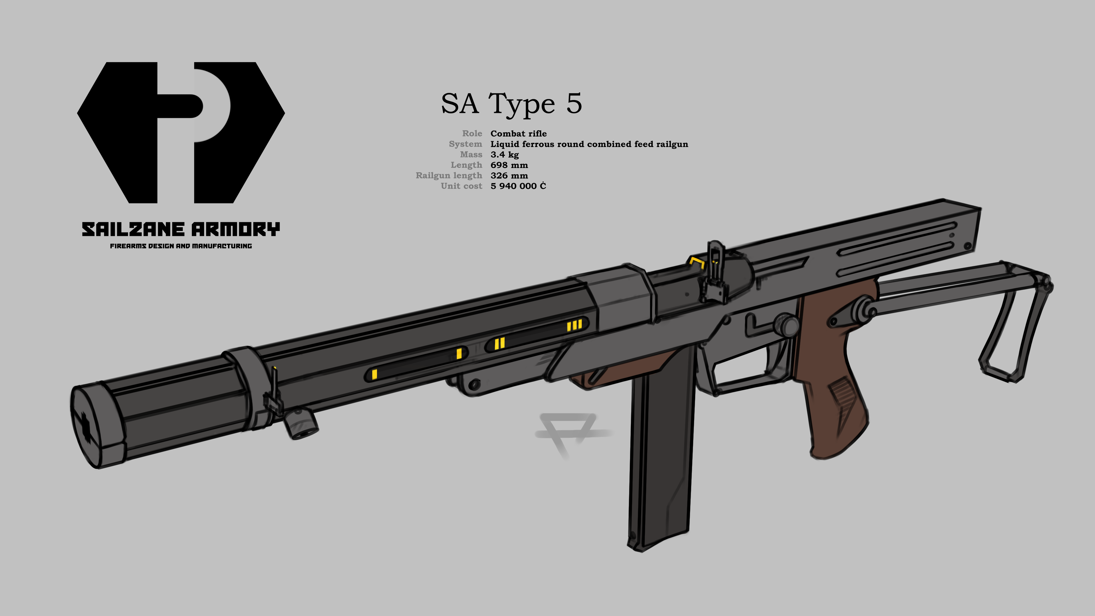 sa type 5 combat rifle weasyl