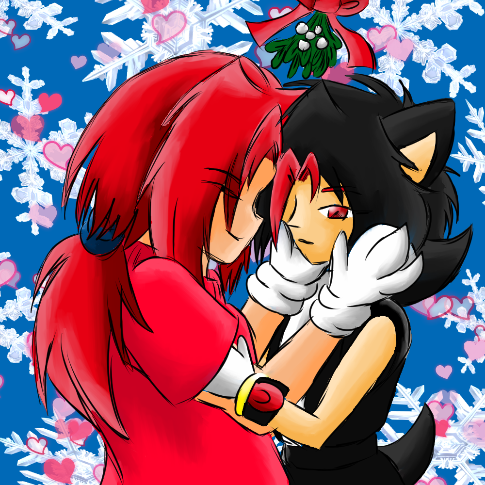 Merry Christmas Kiss — Weasyl