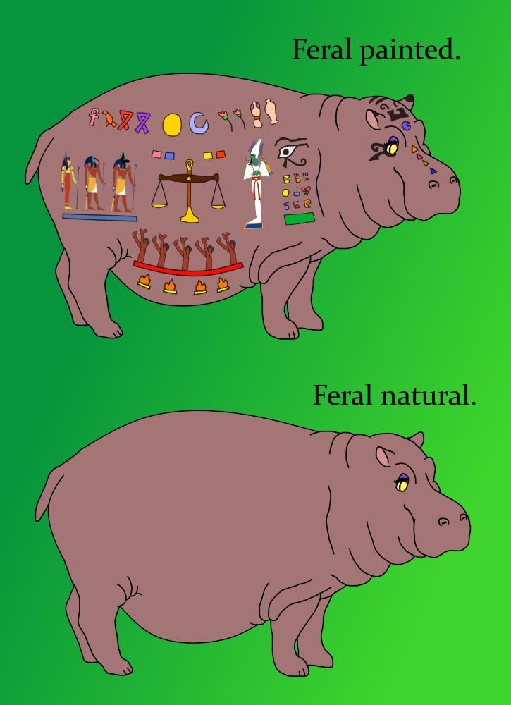 Feral hippo goddess~ — Weasyl