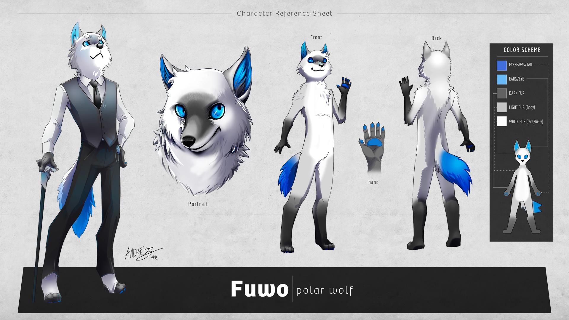 Fuwo Character Reference Sheet