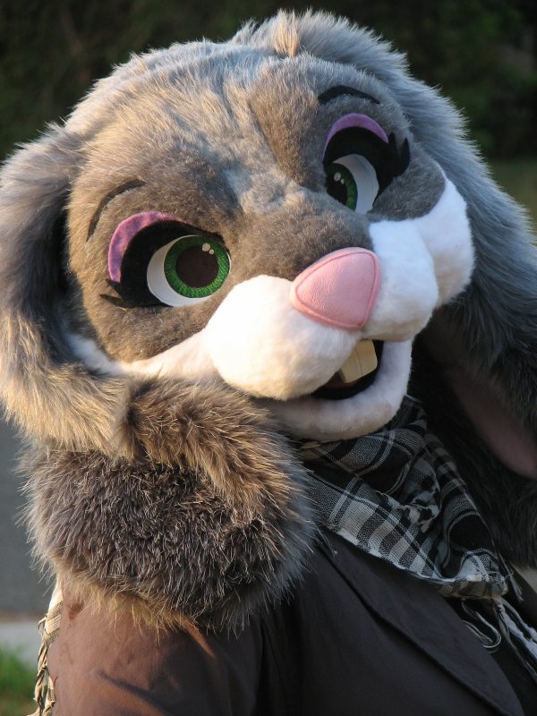 fursuit head violet rabbit � weasyl