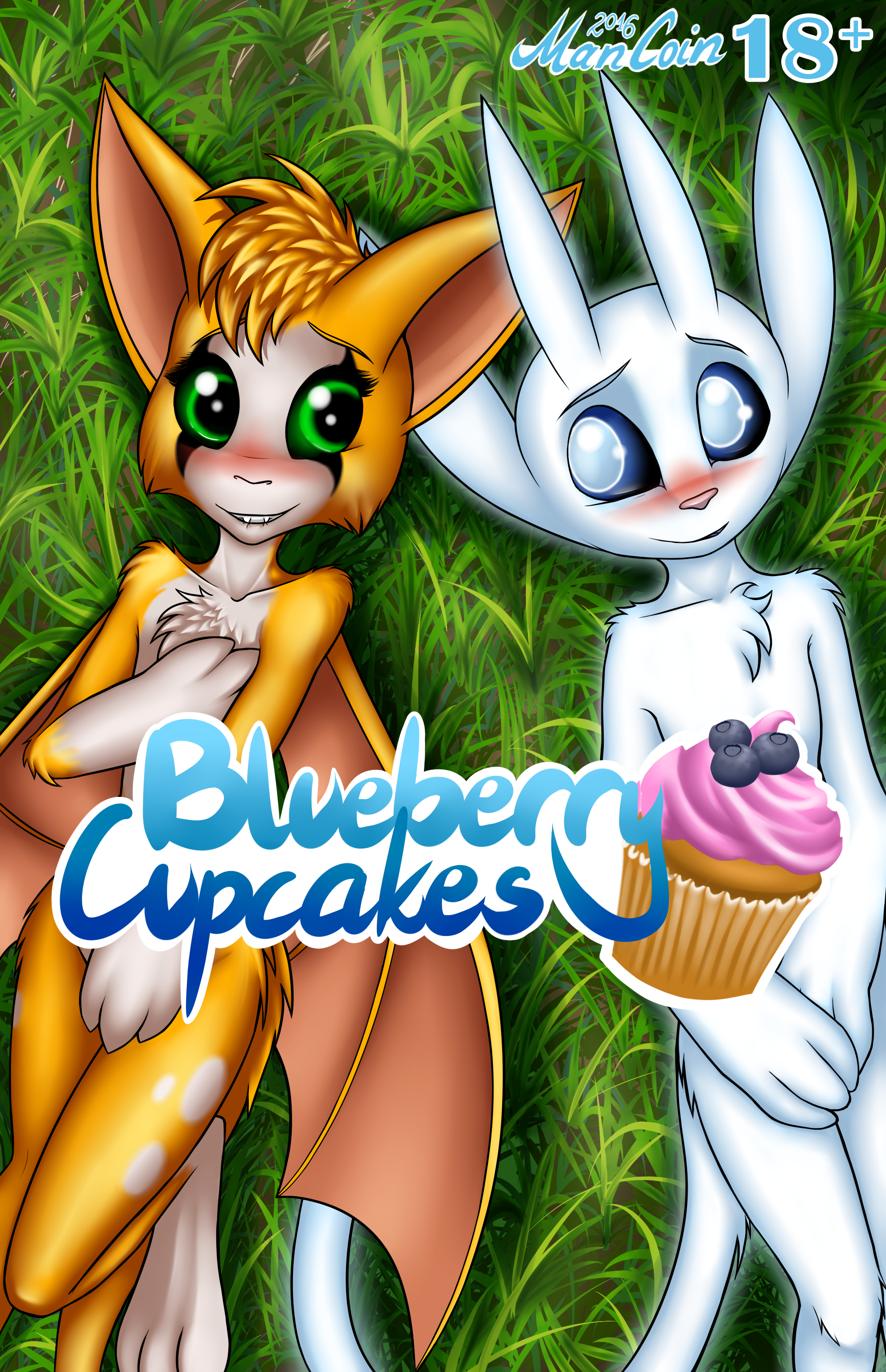 BlueBerry Cupcakes - Cover — Weasyl