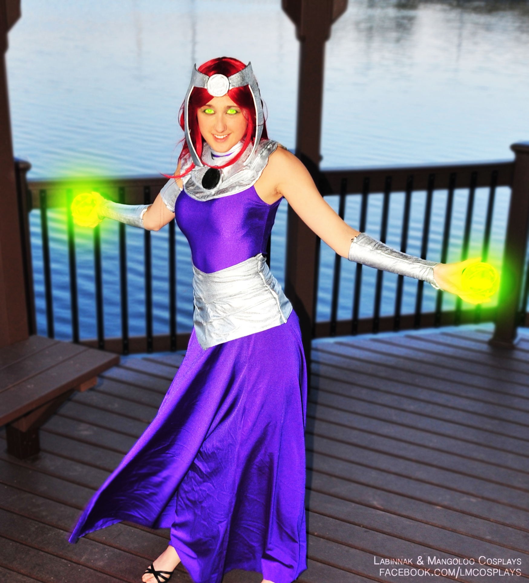 Formal Starfire Cosplay Weasyl