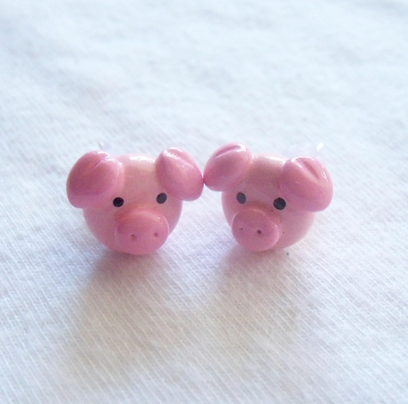 Little Piglet Earrings