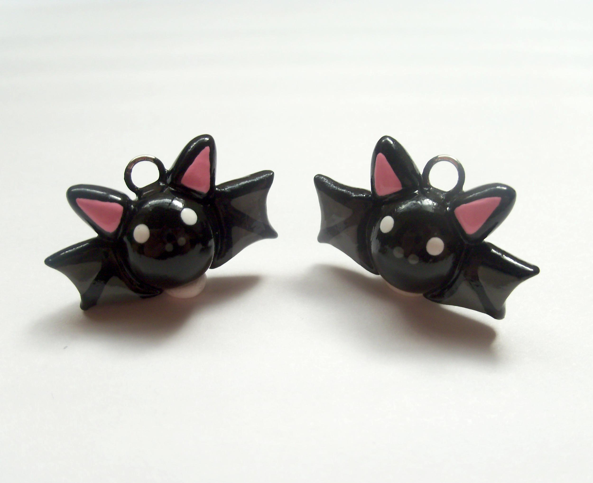 cute bat charms — weasyl
