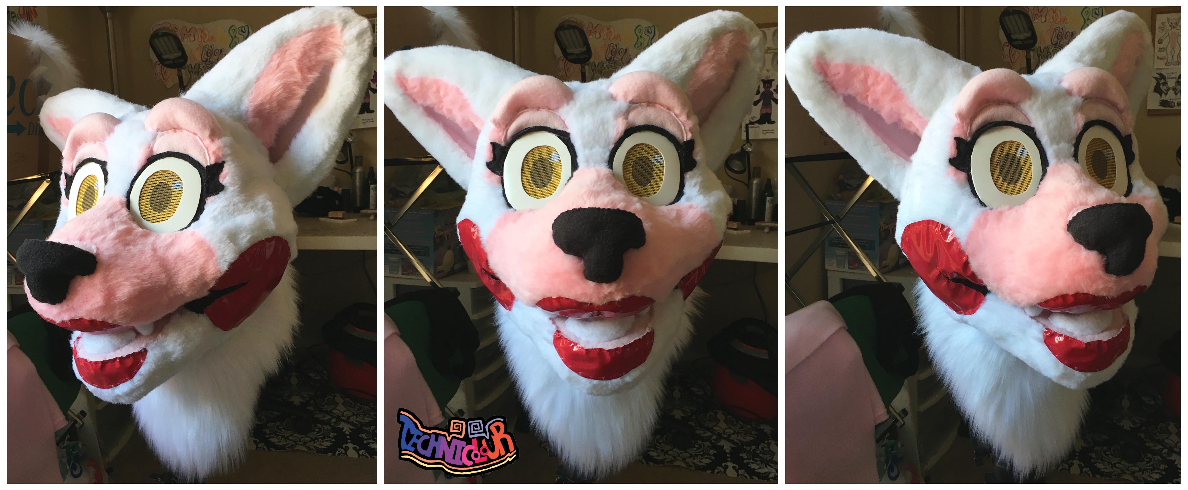 Toy Foxy Mangle Fursuit Head Weasyl