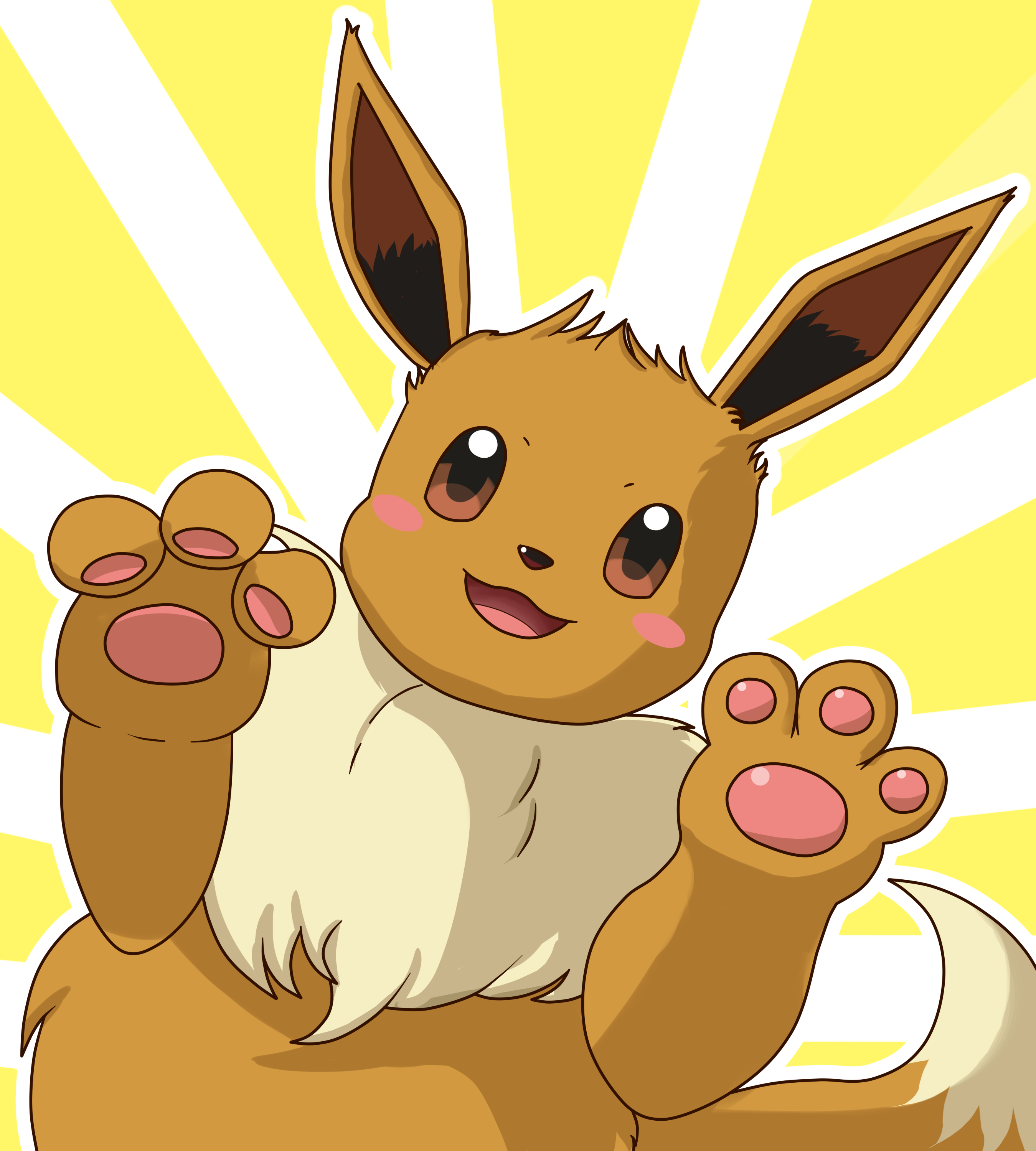 how to make eevee happy