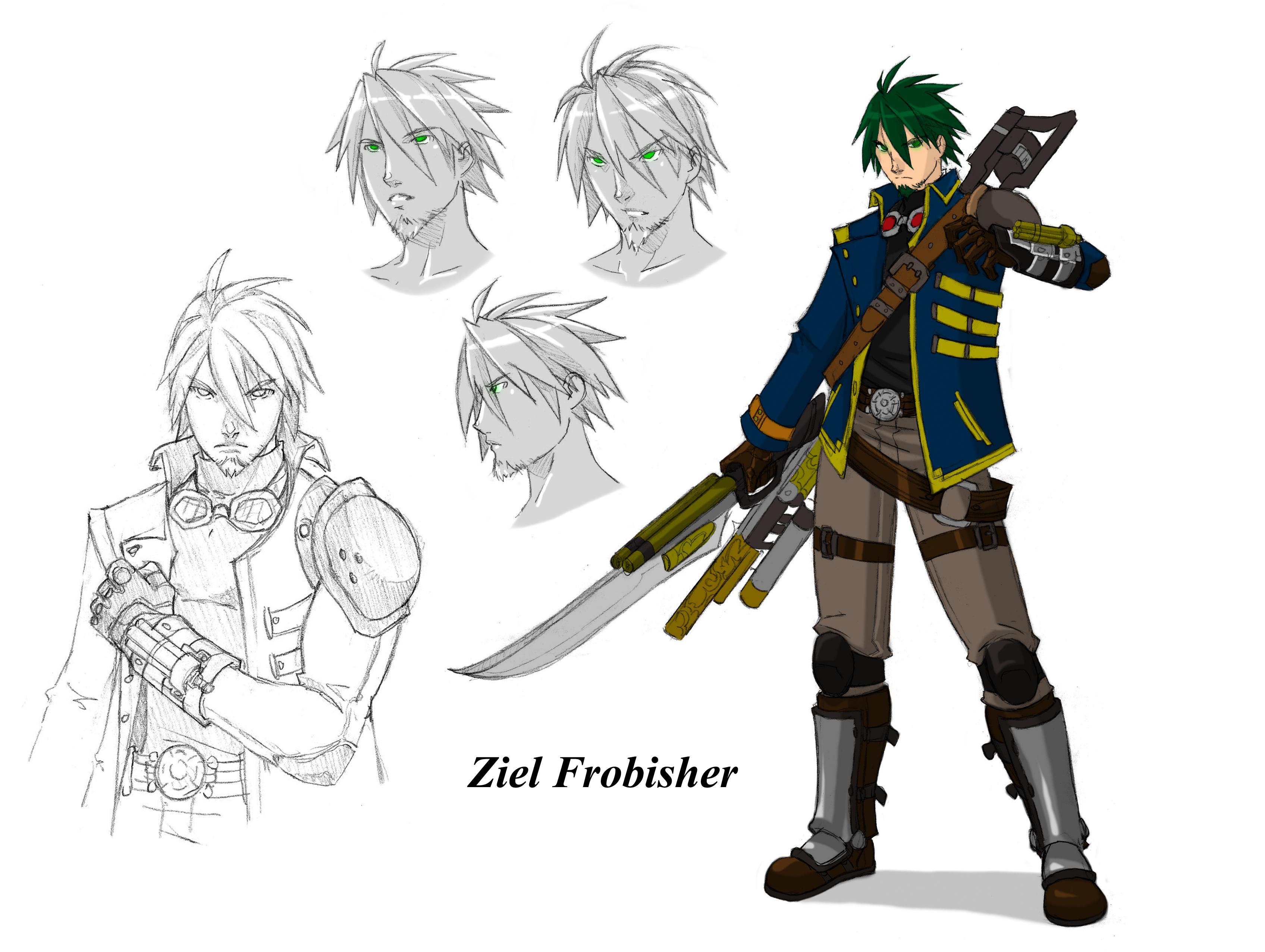 Ziel frobisher character design