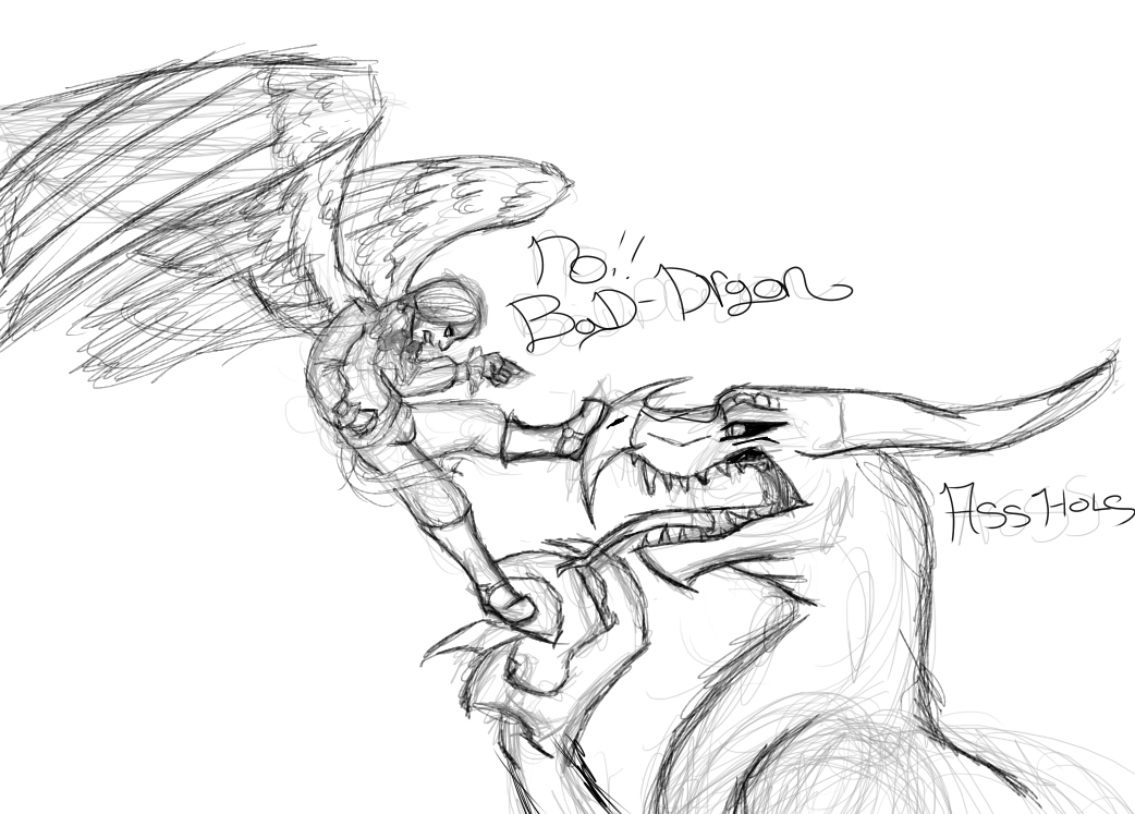 bad dragon art