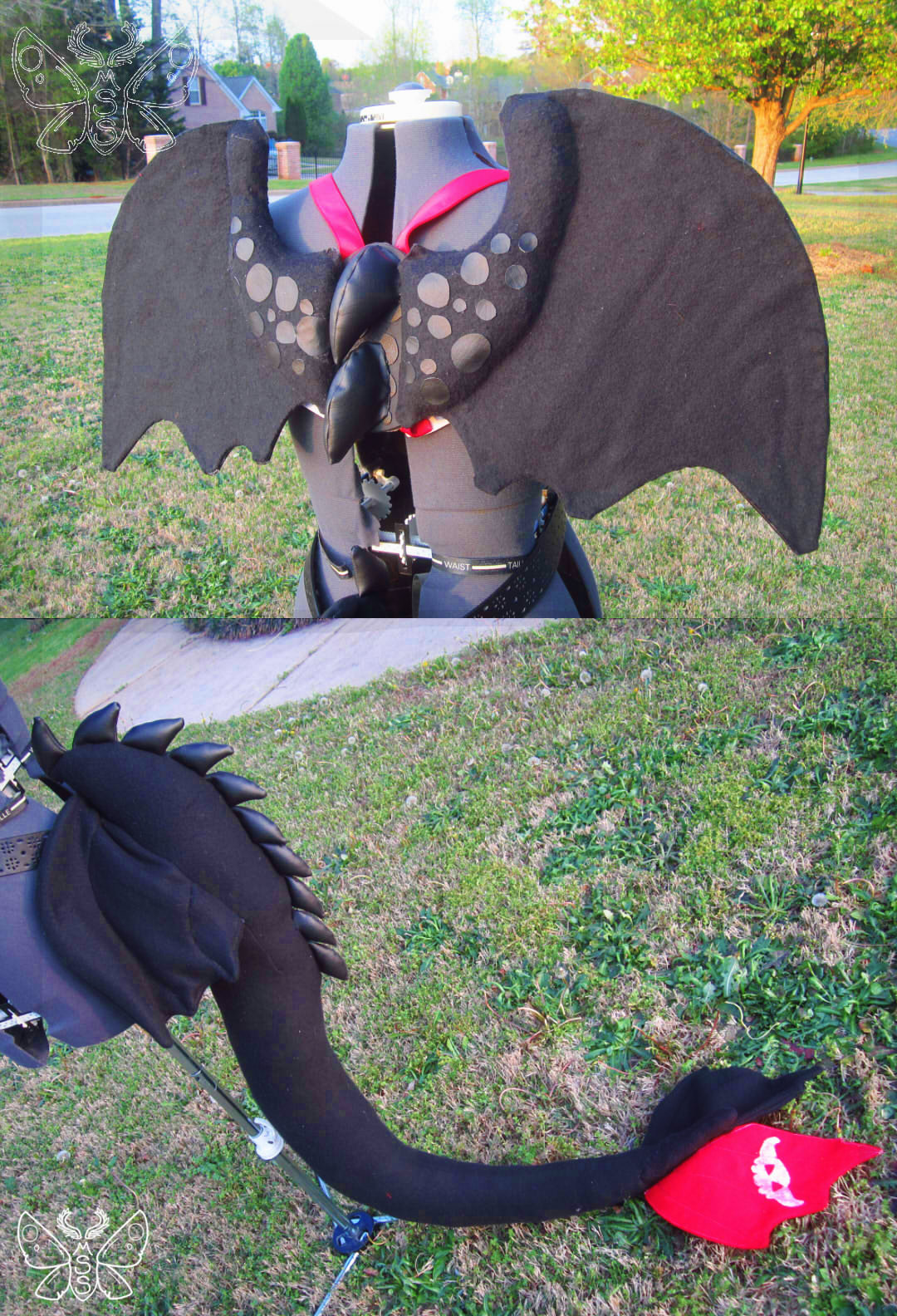 toothless cosplay set � weasyl