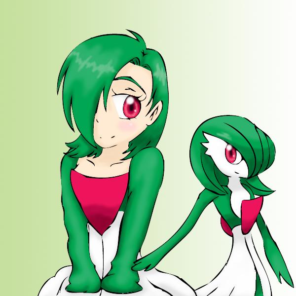 Pokemon: Gardevoir -colored- — Weasyl