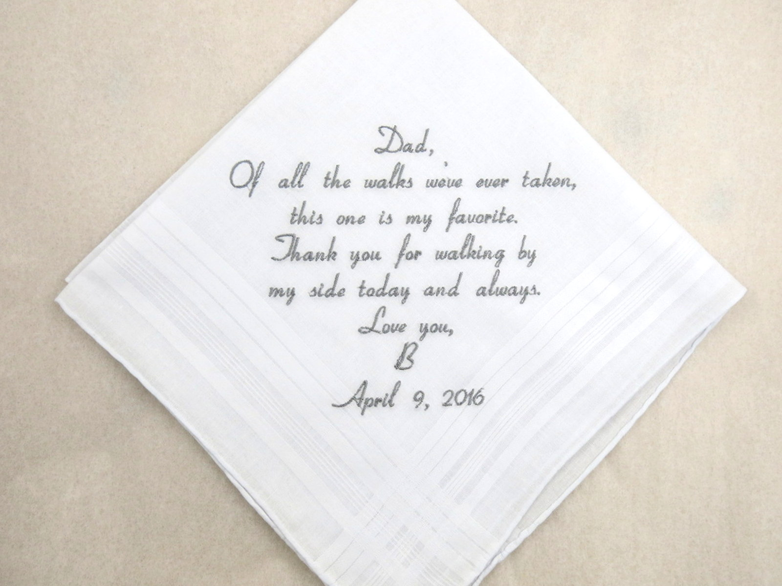 Gift Embroidered Personalized Wedding