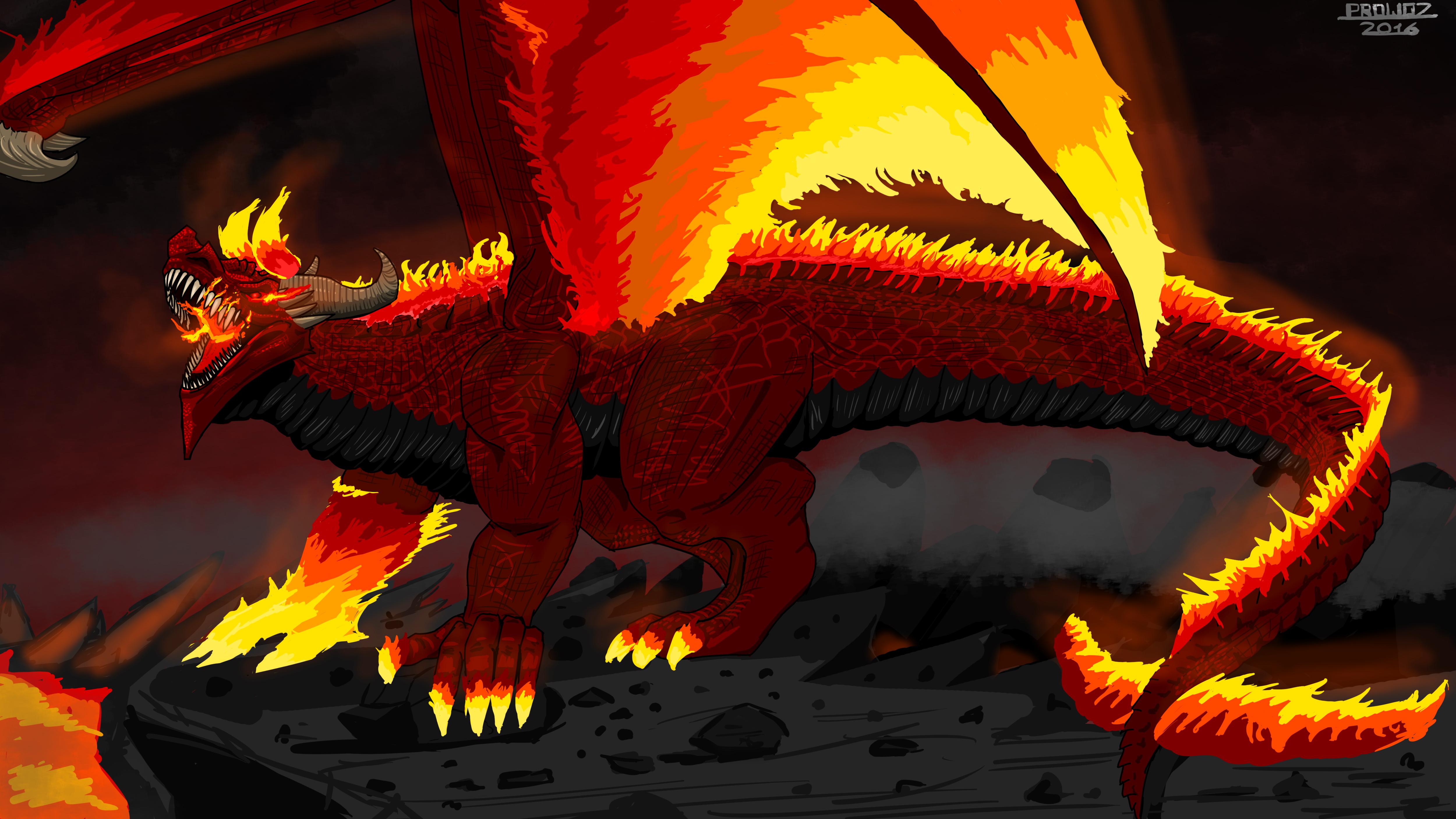 flame dragon � weasyl