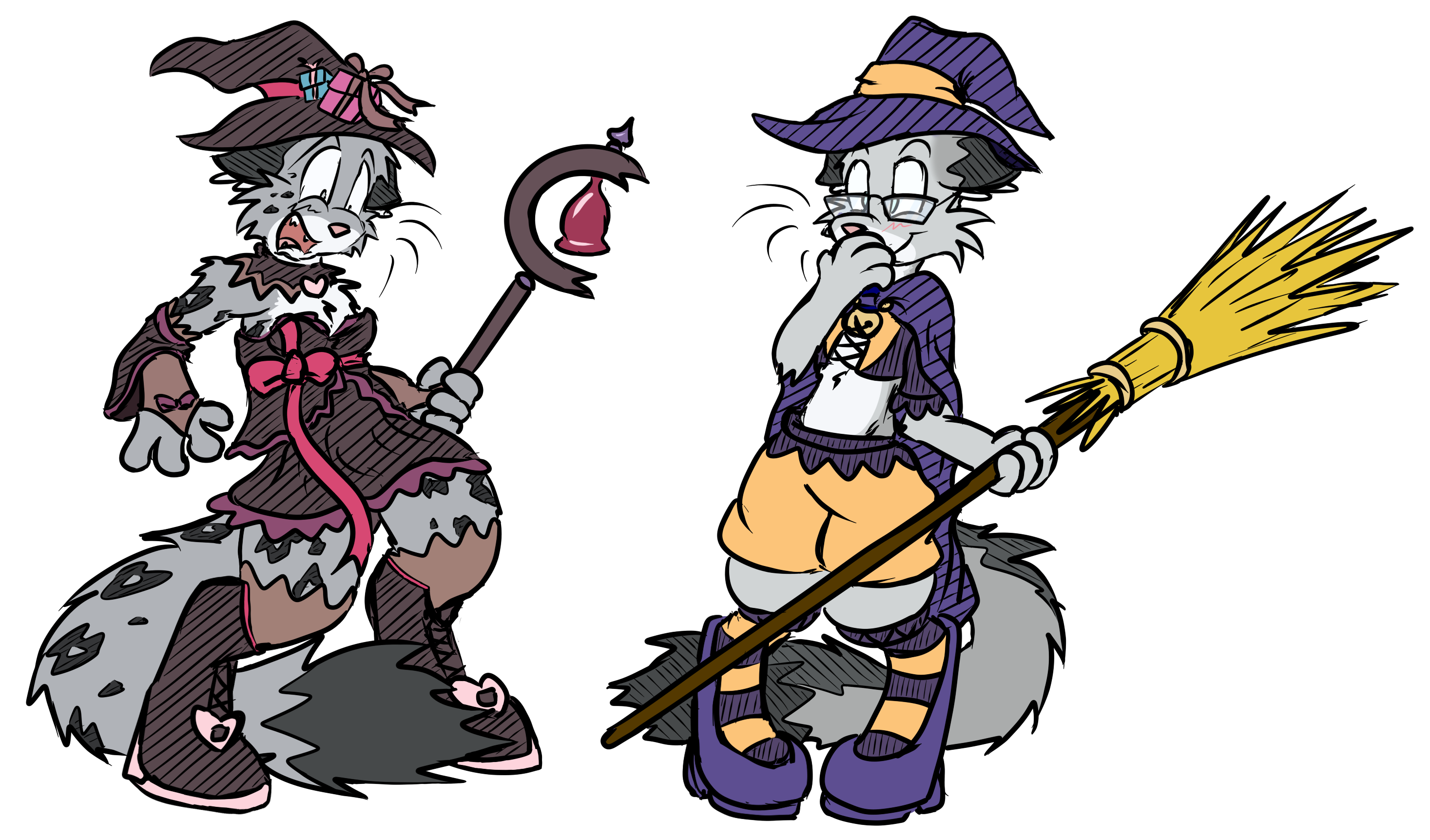 halloween witches by virmir u0026 bluedragon62 u2014 weasyl