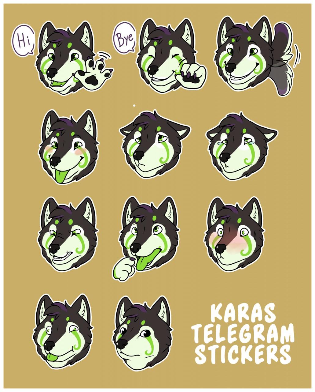 ramthedragon com karas telegram stickers com] karas telegram stickers weasyl