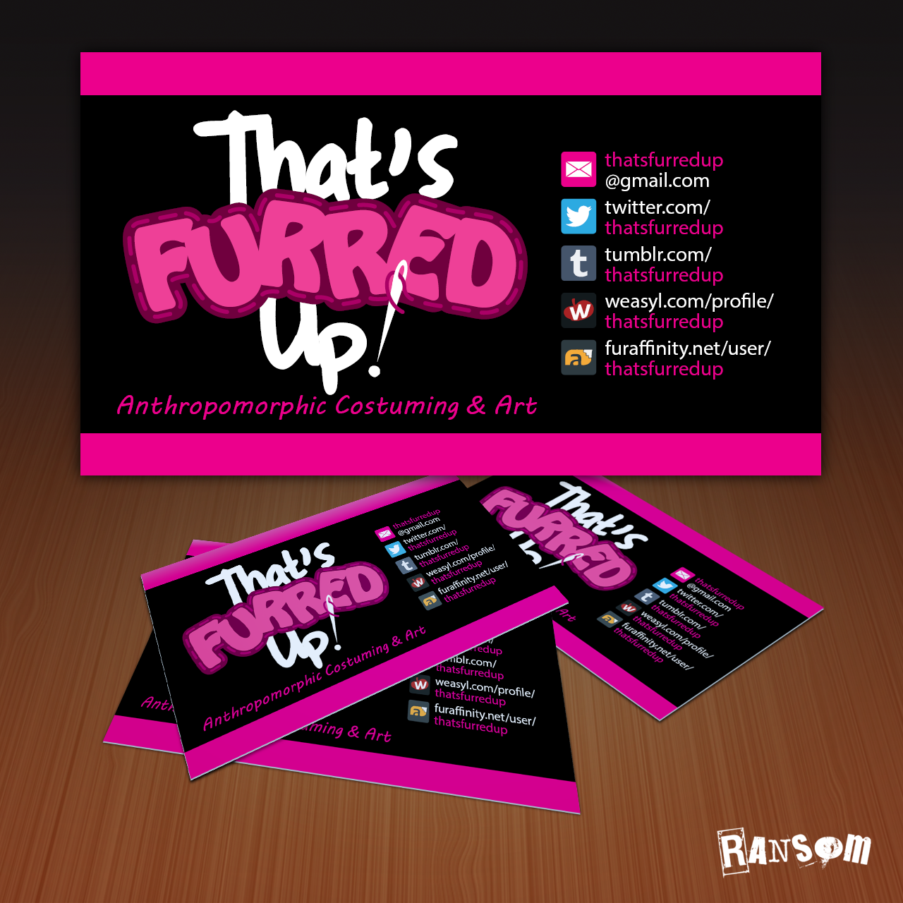 That\'s Furred Up! Business Card — Weasyl