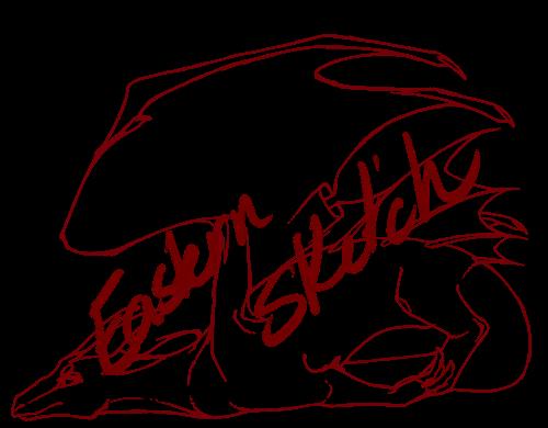 Western Dragon Sketch Weasyl