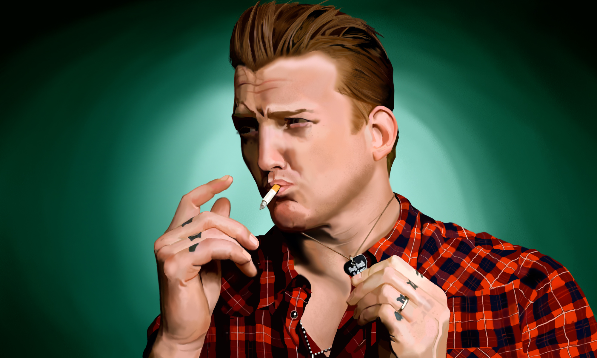 Josh homme weasyl for Queens of the stone age tattoo