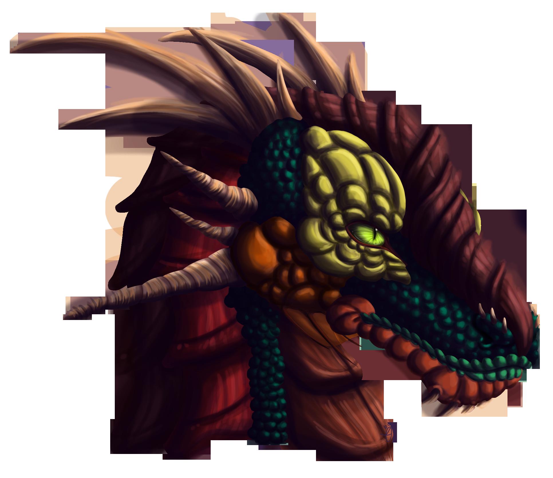dragon head weasyl