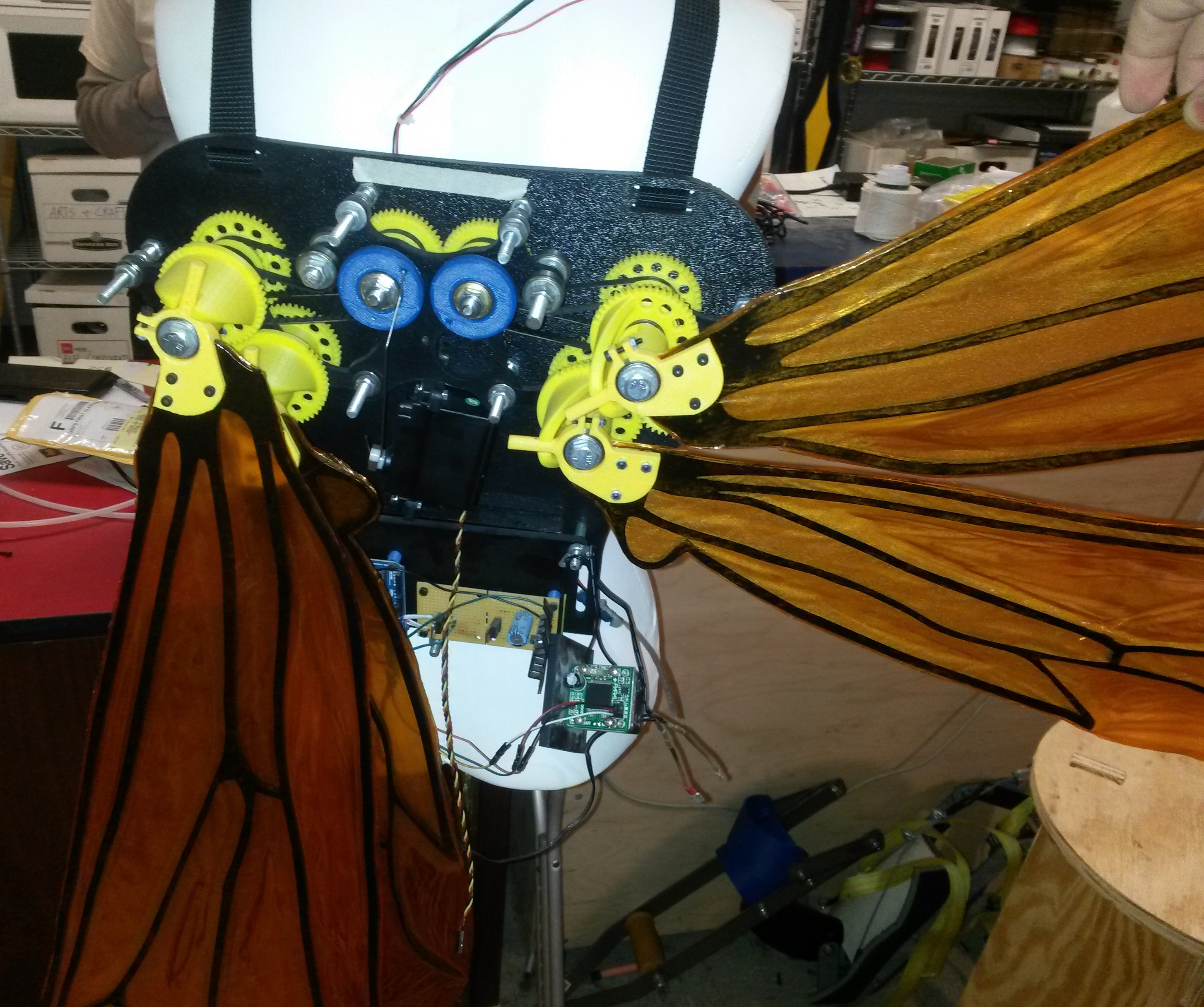 how to make wasp wings