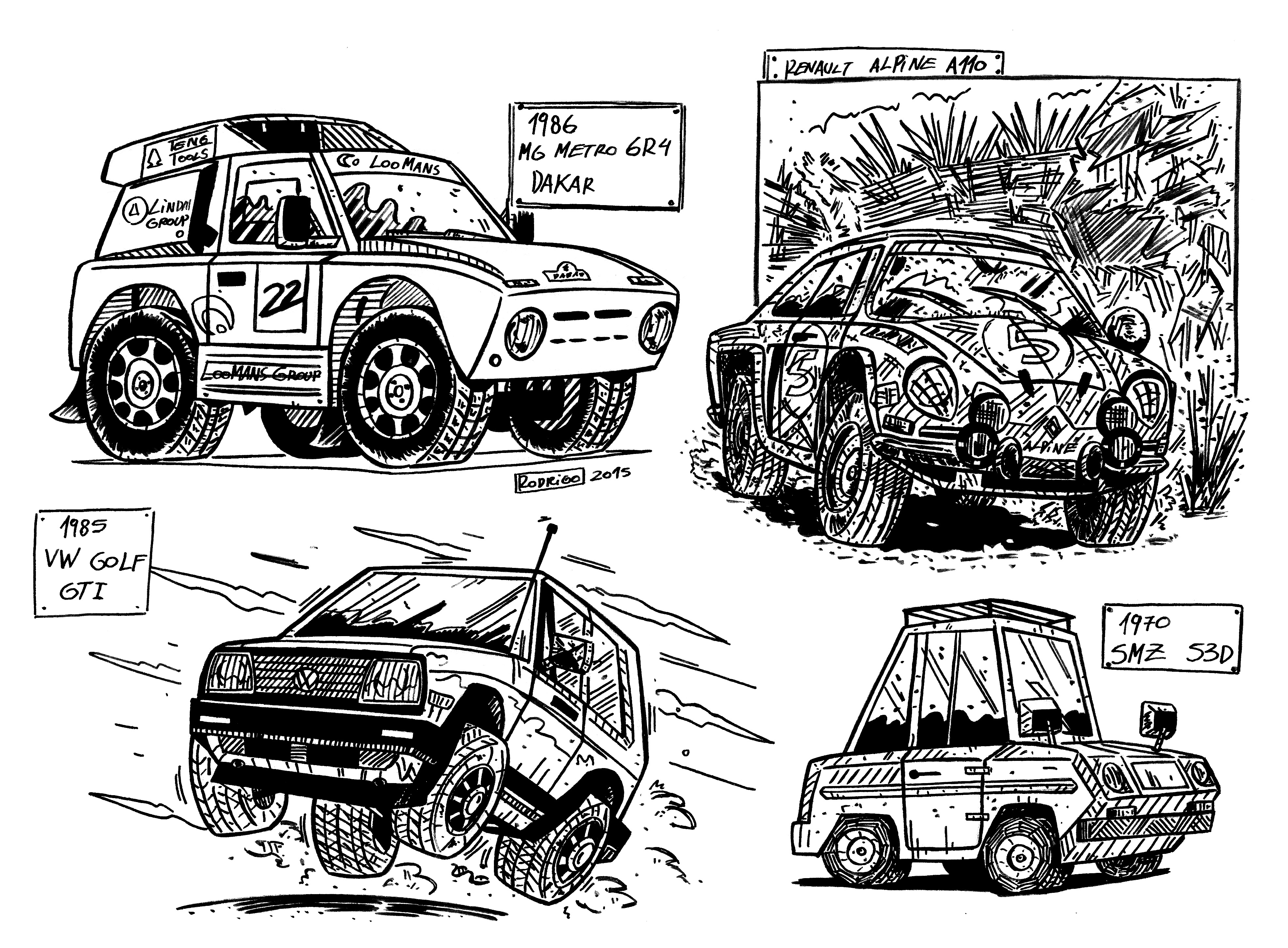 Old cars — Weasyl