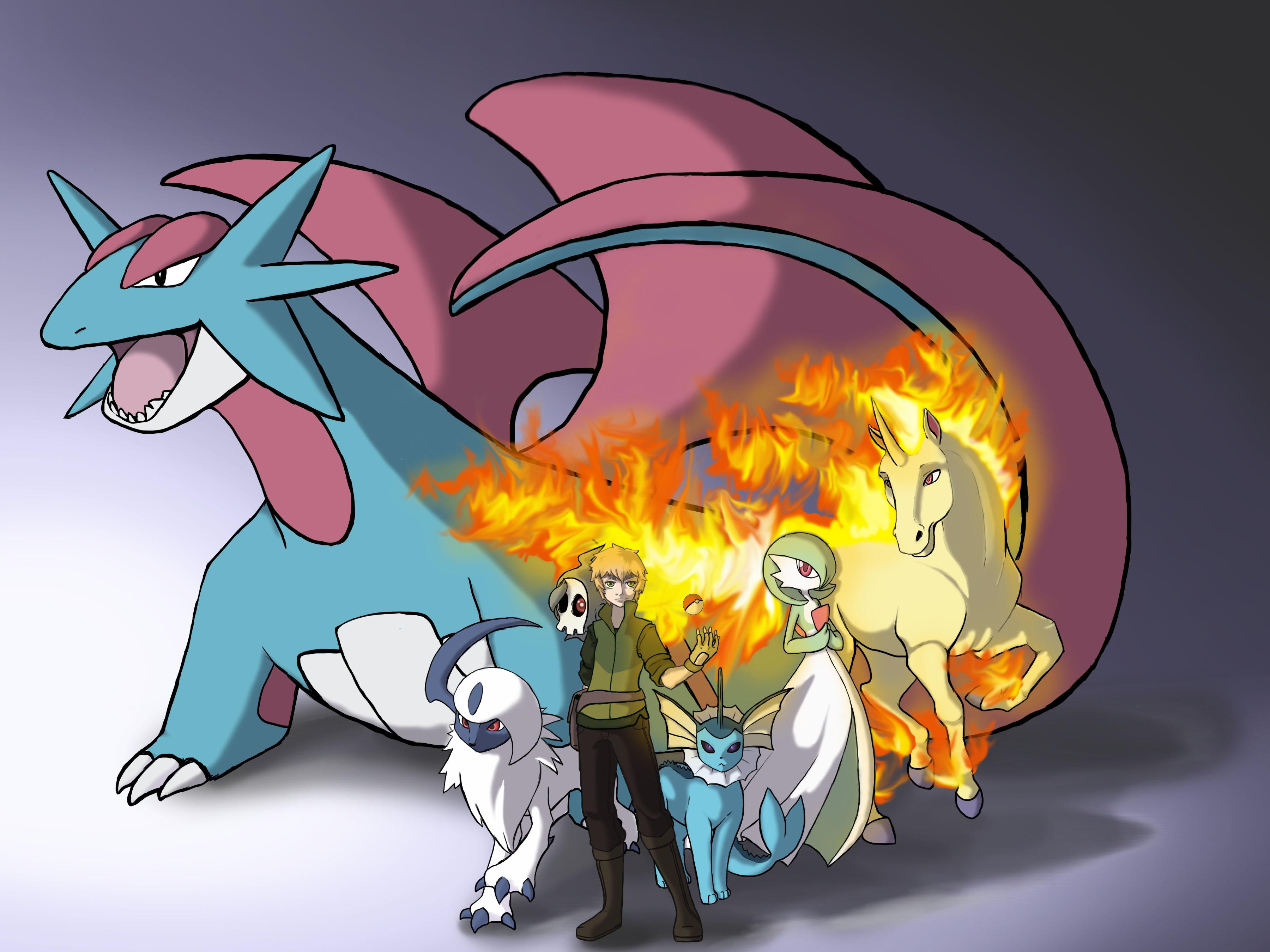 England's Pokemon Team