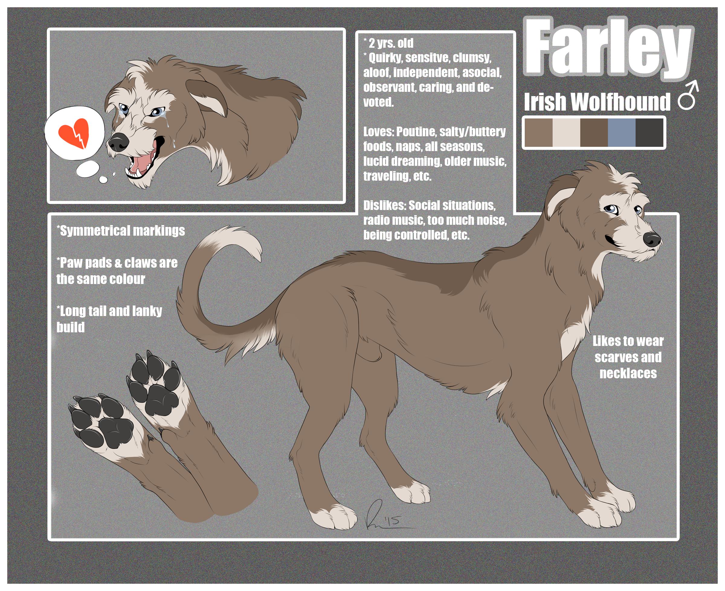 Farley Reference Sheet Weasyl