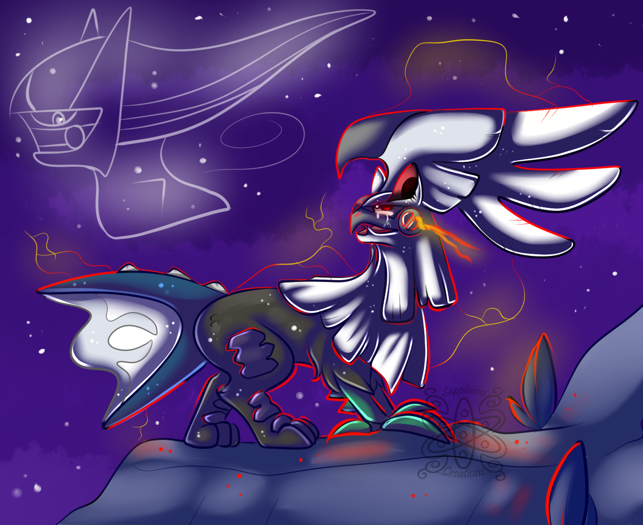 Only a Shadow, a fake Arceus..... — Weasyl