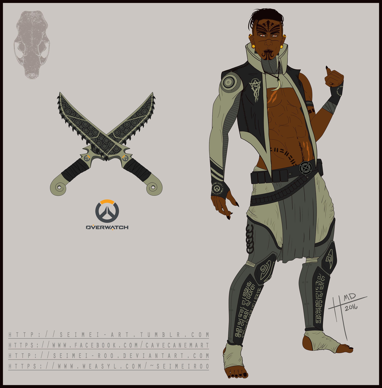 Overwatch OC Weasyl