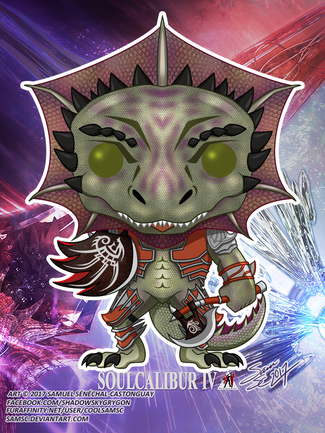 Soul Calibur Lizardman Funko Pop Weasyl