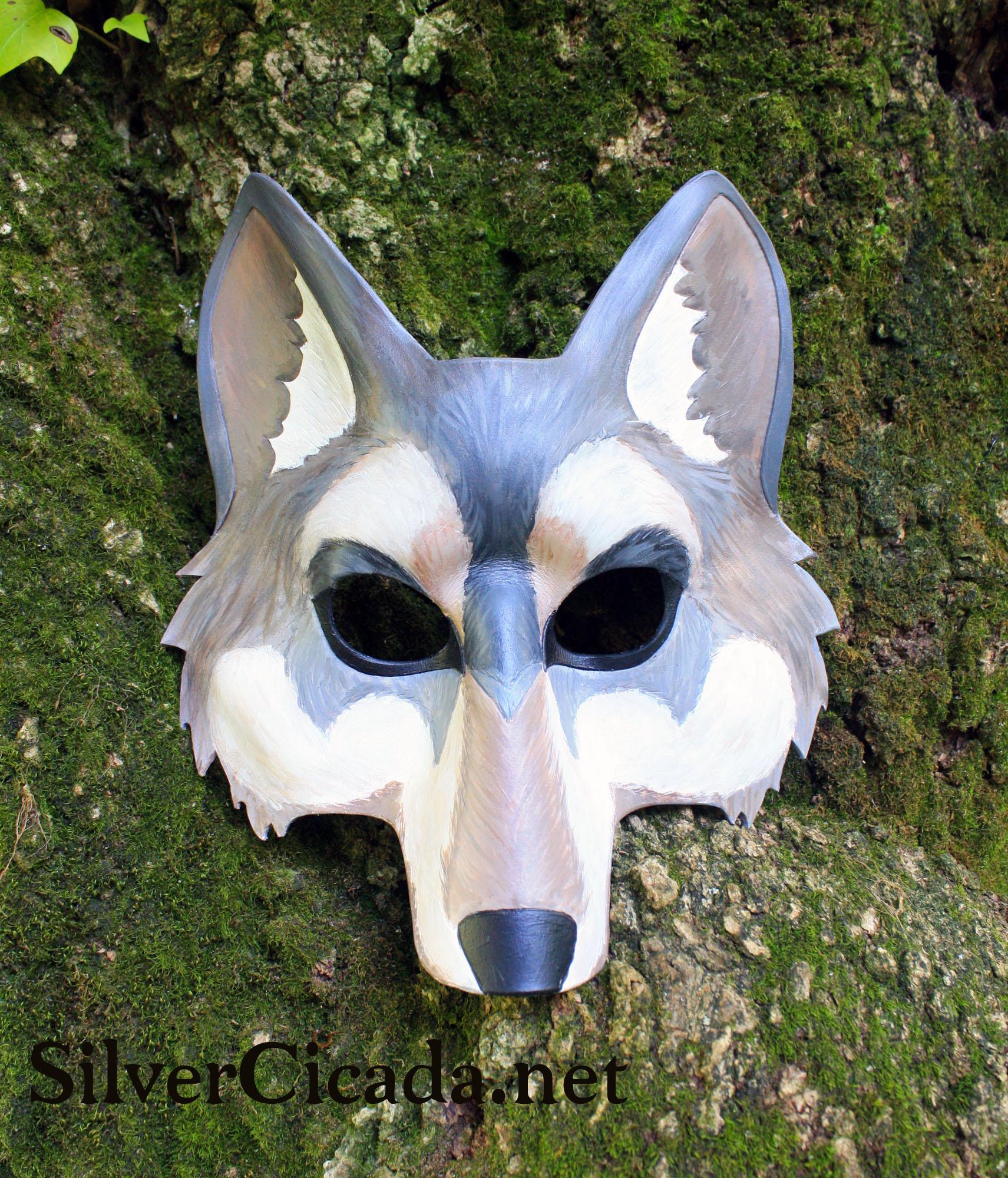 Leather Wolf Mask Weasyl