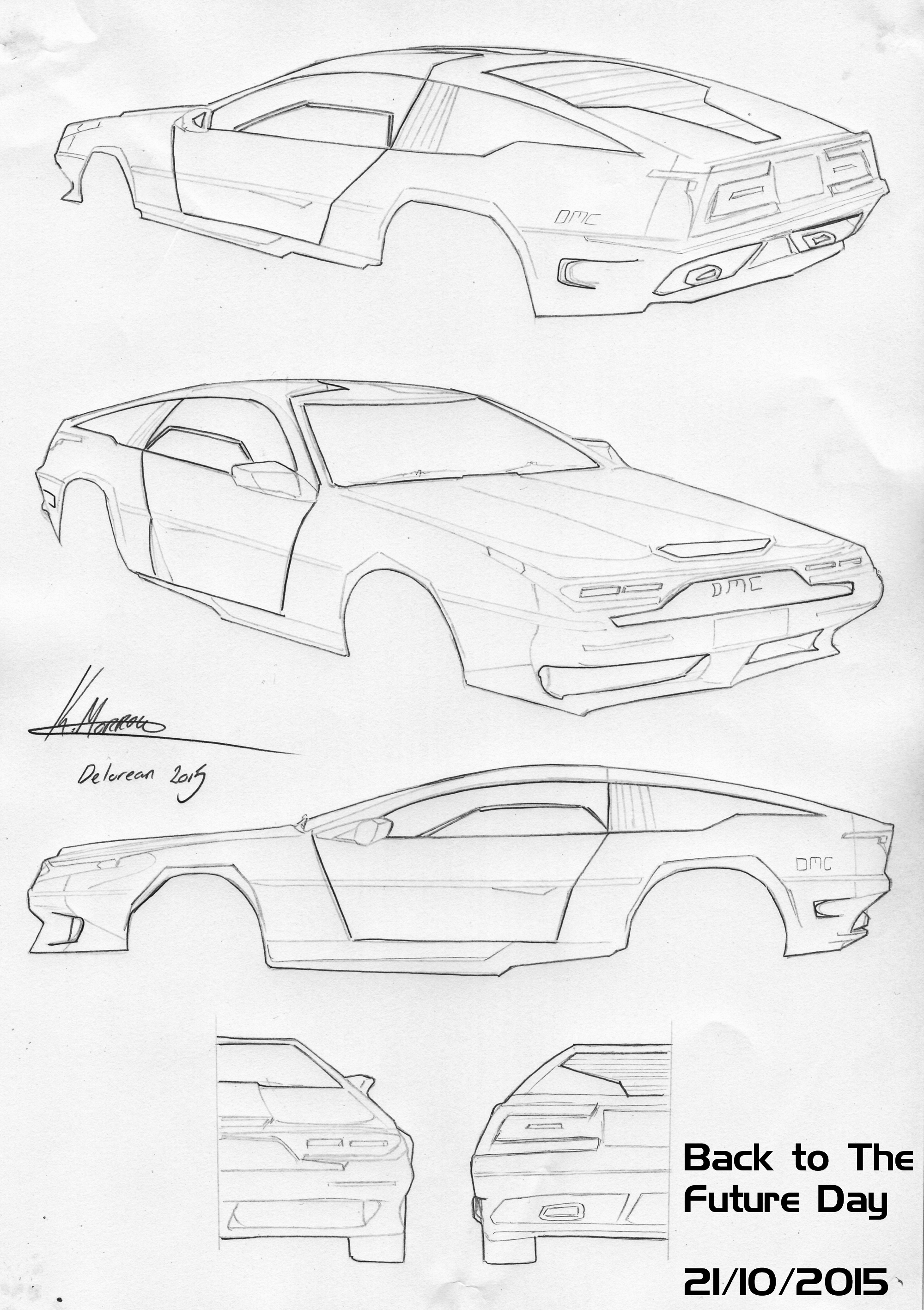 back to the future day delorean car design 2015 weasyl Concept Cars Found in Junkyard back to the future day delorean car design 2015