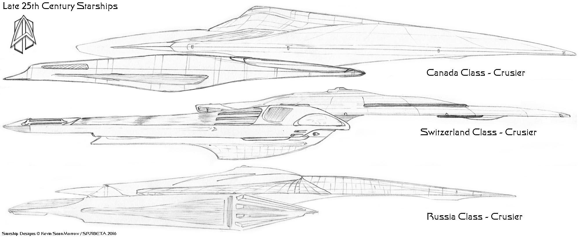 Late 25th century starship designs weasyl for Wohnung star trek design