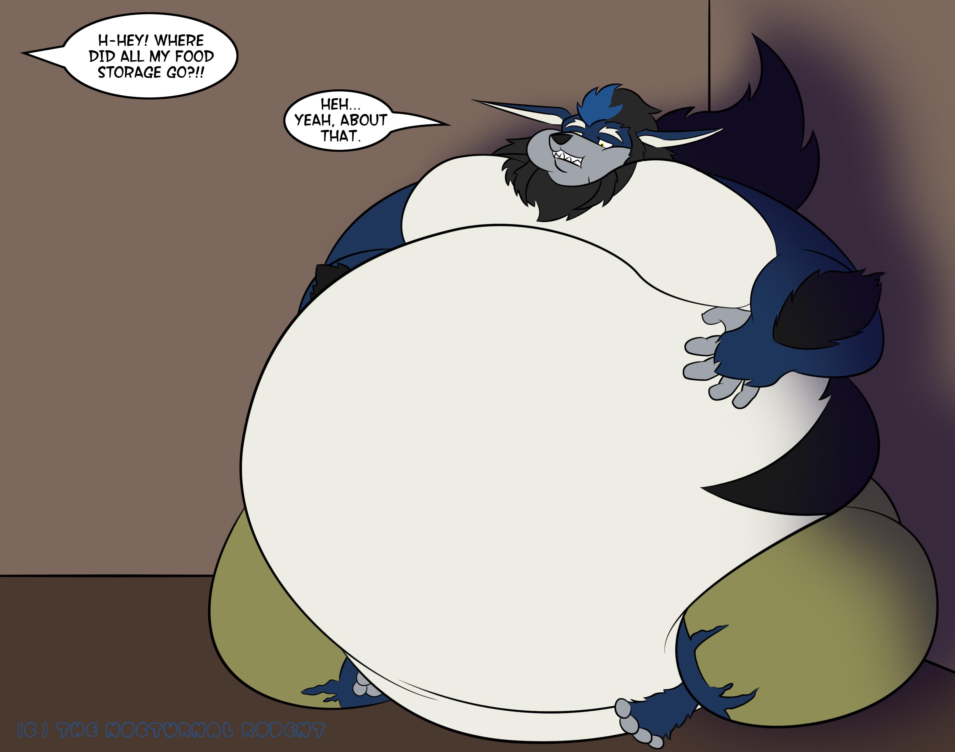 Fat Fur Weight: Empty Storage (K9manx90 Trade)